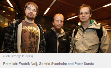 On The Pirate Bay Sentencing